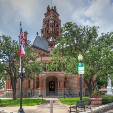 Ellis County Courthouse Exterior