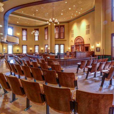 Ellis County Courthouse interior -1