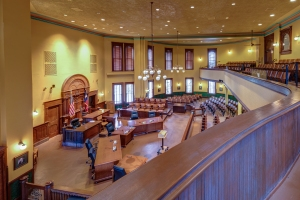 Ellis County Courthouse Interior